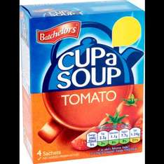 Batchelors Cup a Soup (Chicken / Tomato / Golden Vegetable / Minestrone) was £1.00 now 2 for £1.00 @ Poundland
