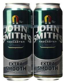 John Smith's Extra Smooth, 40 x 440ml Cans £23.79 Inc delivery ( 59.5p each) @ Amazon Pantry