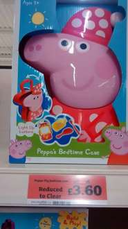 Peppa's bed time case. Reduced to £3.60 & Sainsbury's - Chingford (INSTORE ONLY)