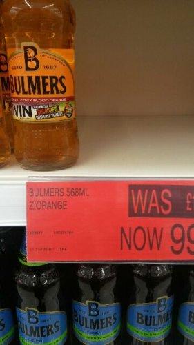 Bargain at B&M Retail Blood orange cider now £0.99