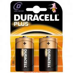 Duracell D Batteries Scanning at 1p @ Wh Smith