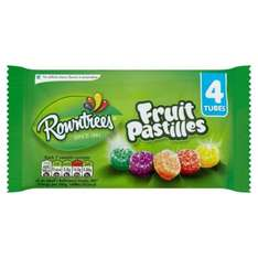 Pack of 4 fruit pastilles 49p Farmfoods