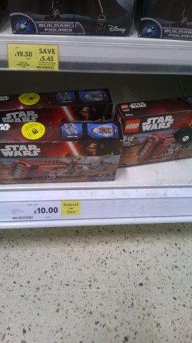 Lego Star Wars Reys Speeder - 75099, £10 instore @ Tesco - Liverpool