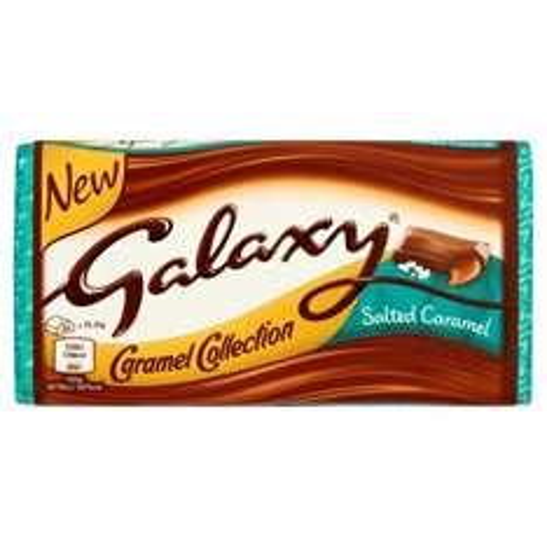 Galaxy Salted Caramel Block (135g) 50p @ Argos