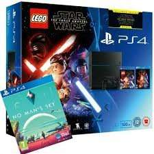 PS4 500GB Bundle with Lego Star Wars game Plus Force Awakens Blu-ray Plus No Man's Sky £279 @ Tesco Direct (Using Code)