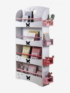 Storage Bookshelf Library now £49 delivered at Vertbaudet (blue version available in comments)