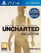 [PS4] Uncharted: The Nathan Drake Collection-As New (Boomerang Rentals) £20.08