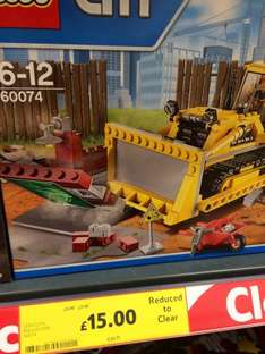Lego City Bulldozer 60074 £15 @ Tesco