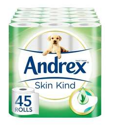 Andrex Aloe Vera - Amazon Deal of the day £14.49 Prime or £19.24 non prime