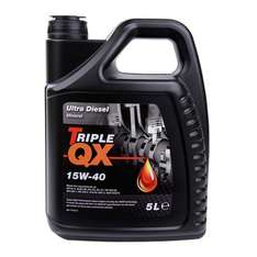 TRIPLE QX 15w40 Diesel Mineral Engine Oil 5Ltr @ Eurocarparts for £13.49