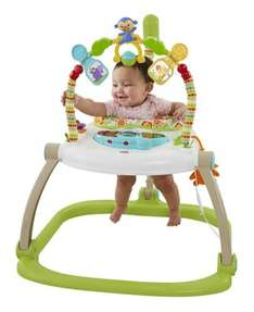 Fisher Price Rainforest Friends Spacesaver Jumperoo was £89 now £50 C+C @ Asda George