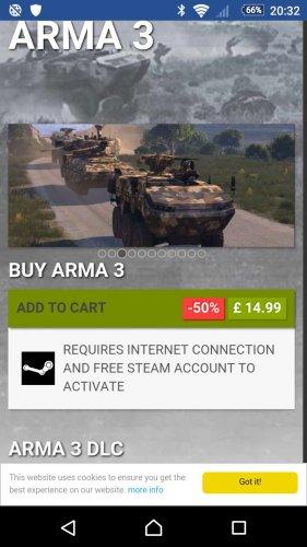Arma 3 £14.99 @ Bohemia Interactive