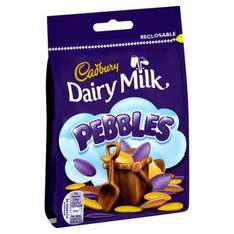 Cadbury Dairy Milk Pebbles (119g) 39p or 3 for £1 @ B&M