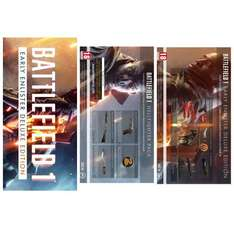 Battlefield 1 Early Enlister Deluxe Edition [Xbox One and PS4 Download Code] - £64.99 inc free release day delivery @ Amazon
