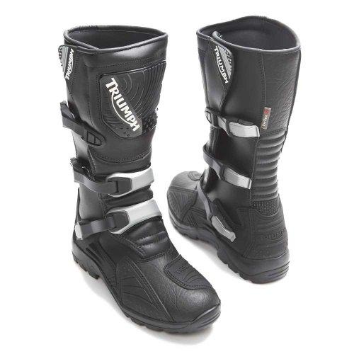 Triumph Motorcycle Adventure Boots Size 10 £50 + £4.50 P&P @ Triumph Outlet