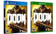 [PS4/Xbox One] Doom (New) for £22.49 @ Sainsbury's
