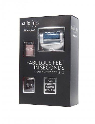 Micro Pedi & 2 X Nails Inc polishes Marks & Spencers £24