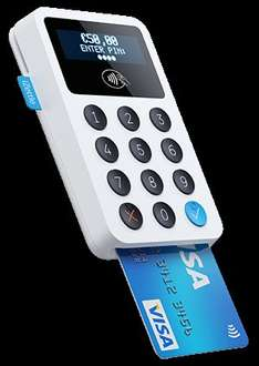 iZettle contactless / card reader for businesses now £34.80 (until aug 31st normally £70.80