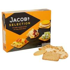 Jacob's Crackers Biscuit For Cheese 250g £1 @ Morrisons
