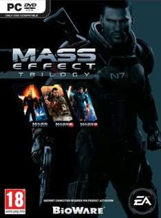 Mass Effect trilogy for PC £9.75  (Prime) / £11.74 (non Prime)  Sold by 4GamersUK and Fulfilled by Amazon.