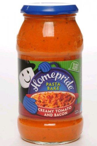 Homepride creamy Tomato and bacon 10p b&m