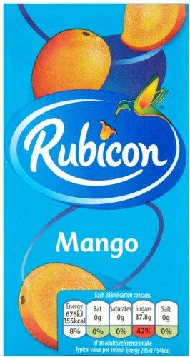 Rubicon Mango (288ml) was 60p now Only 35p @ Sainsbury's