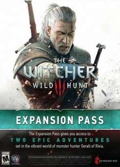 Witcher 3 PC expansion pass £15.88 at instant gaming