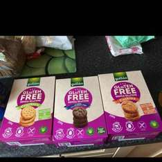 gluten free cookies and crackers £1 each in poundworld