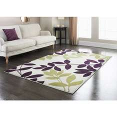 110 x 160cm rugs half price. now 19.99 @ b&m  [see comments for designs]