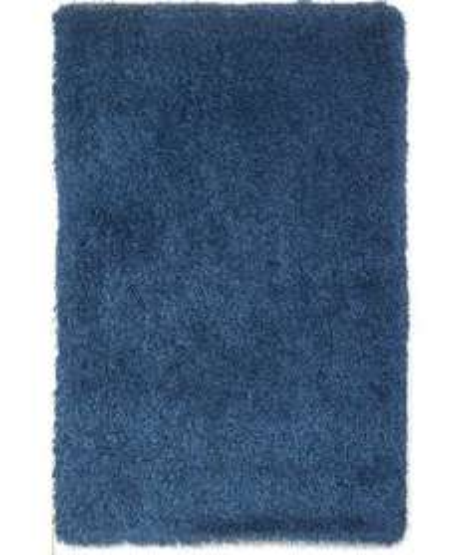 Shaggy blue rug 170x110cm was 59.99 now 18.99 at Argos