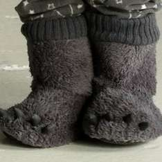Bear slippers less than half price - plus now free delivery! £1.50 at Argos