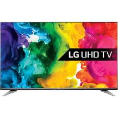 "LG 49UH750V 49"" Smart 4K Ultra HD with HDR TV after price match and cash back £569 @ Ao.com"