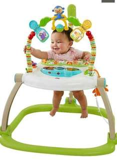 Fisher Price Roaring Spacesaver Forest Jumperoo £50 Asda
