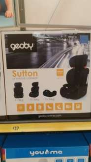 9 Months To 12 Years Car Seat £27 @ Morrisons