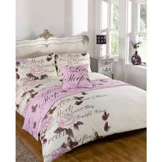 B&M Stores Bed in a Bag assorted prices start from £7.49 for double, king size available instore & online