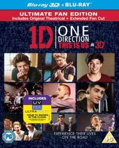 ONE DIRECTION: THIS IS US 3D (INCLUDES ULTRAVIOLET COPY) BLU-RAY 99p + £1.99 P&P @ Zavvi