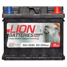 Lion Battery 063 3 Year Guarantee  £24.49  eurocarparts with code