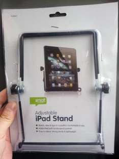 Adjustable tablet/large phone stand. £1 poundworld (Harrogate). Better than poundland ones as adjustable and fits my note 2