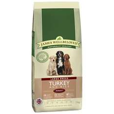 James well beloved turkey and rice 15kgx2 £63.15 pet-supermarket.co.uk