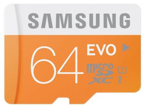 Samsung evo uhs 1 class 10 64gb micro sd card £12.99 @ Amazon