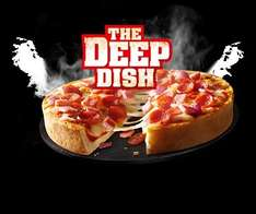 microwavable 2x155g Chicago Town The Deep Dish pizzas £1 @ iceland [4 cheese/Pepperoni/Mega Meaty/Pulled Pork]