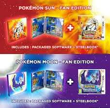 Pokemon Sun and Moon Fan Edition (Nintendo 3DS) @ Amazon for £36.49 each