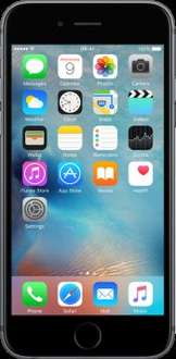 16GB iPhone 6s Space Gray on o2 with 3GB unlimited calls and texts using code 6S16GBOFF for £50 off @ E2save