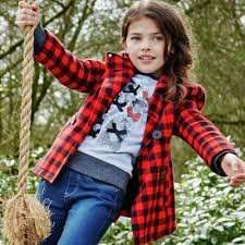 Argos Cherokee Girls' Red Check Coat -sizes up to 12 Years, was £16.50 now £5 @ Argos