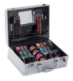 Large Aluminium Beauty Case With Cosmetics Studio online or catlogue £14.99 + delivery