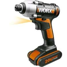 Worx 20v Cordless Impact Driver with battery £59.99 @ Homebase