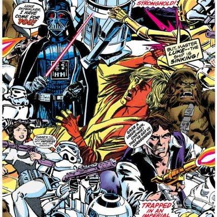 Star Wars Cartoon Wallpaper now £6 per roll C+C @ B&Q (Peppa Pig £5 + more)