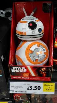 BB8 Plush with Sounds £3.50 at Tescos