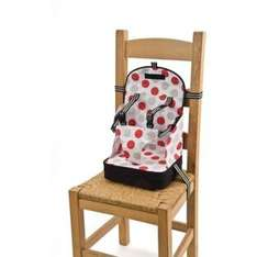 Baby Polar Gear Booster Seat - Black with Large Spot Print. £9.99 @ Argos