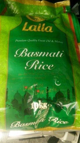 laila basmati rice £9 10kg @ Asda online and instore